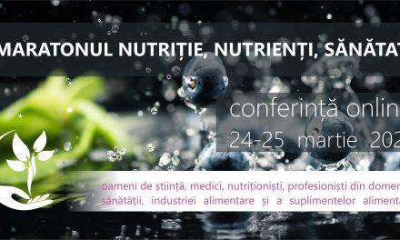Maratonul Nutriție, Nutrienți, Sănătate 2021