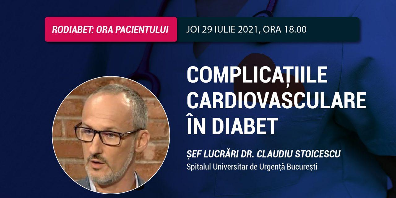 Dr. Claudiu Stoicescu: Prevenirea complicațiilor cardiovasculare