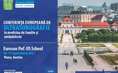 Au inceput înscrierile pentru Conferința Europeană de Ultrasonografie 2021 – Euroson PoCUS School Vienna