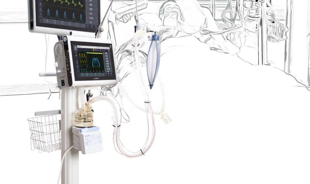Cel mai performant aparat de ventilare de la UTAS este disponibil în România