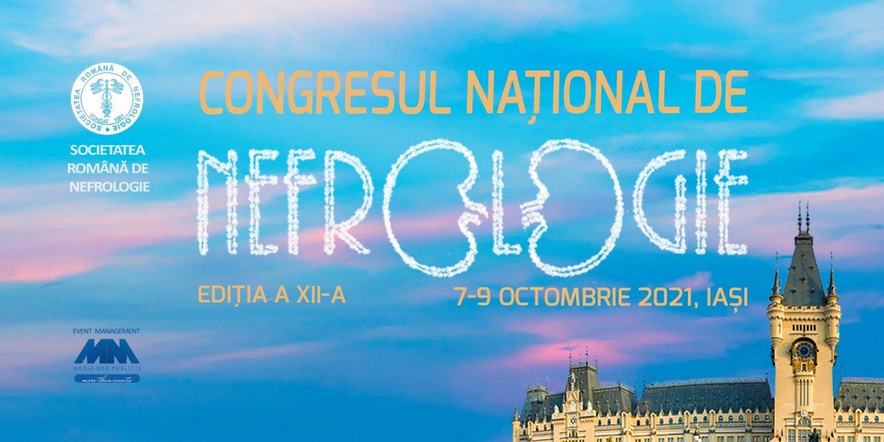 Congresul Național de Nefrologie, 7-9 octombrie, Iași