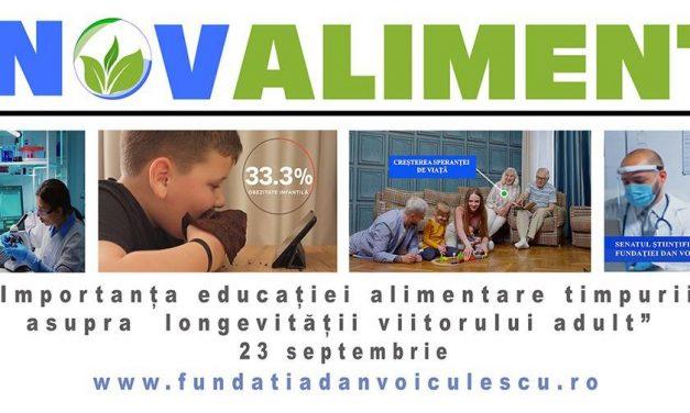 """Conferință manifest: """"Influența educației alimentare timpurii asupra longevității viitorului adult"""""""
