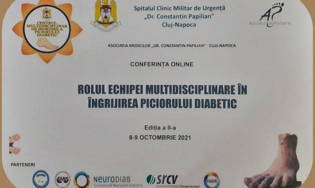 Conferința Rolul echipei multidisciplinare în îngrijirea piciorului diabetic, ediția a II-a
