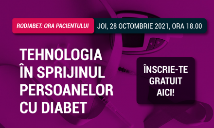 Ora Pacientului RoDiabet: Ediție dedicată tehnologiilor care vin în sprijinul persoanelor cu diabet