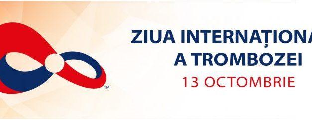Ziua Mondială a Trombozei este celebrată în întreaga lume pe 13 octombrie